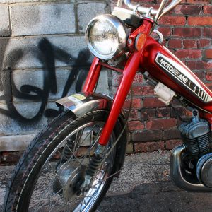 Red Variated Motobecane Moby 50V (SOLD)