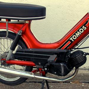 1991 Red-Orange Tomos Bullet A3 (SOLD)