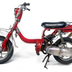 1982 Red Suzuki FZ50Z kickstart noped (SOLD)