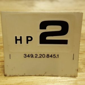 Puch HP 2 decal – New Old Stock