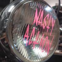 Nasty Action headlight decal