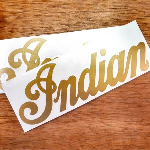 NEW Reproduction Indian moped tank decal set
