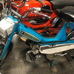 1976 Teal Blue Motobecane Mobylette 40TL (SOLD)
