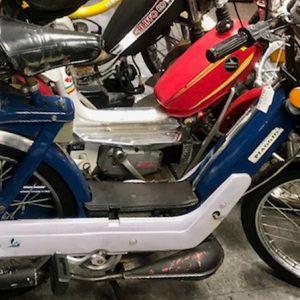 1981 Blue Vespa Piaggio Ciao Special (SOLD)