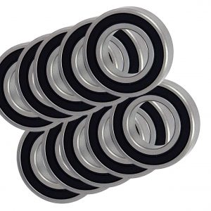 6001RS 12x28x8 Sealed Ball Bearings