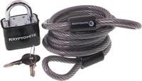 Kryptonite KryptoFlex 6′ cable with padlock