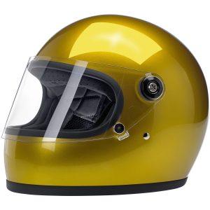 Biltwell Gringo S Metallic Yukon Gold ECE Helmet