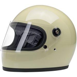 Biltwell Gringo S Gloss Vintage White ECE Helmet