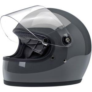 Biltwell Gringo S Gloss Storm Grey ECE Helmet