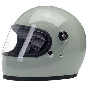 Biltwell Gringo S Gloss Sage Green ECE Helmet