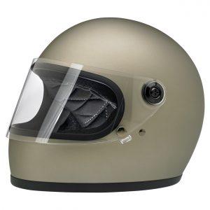Biltwell Gringo S Flat Titanium ECE Helmet
