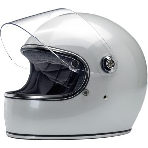 Biltwell Gringo S Metallic Pearl White ECE Helmet