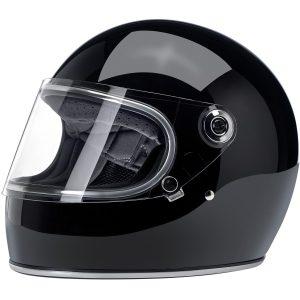 Biltwell Gringo S Gloss Black ECE Helmet