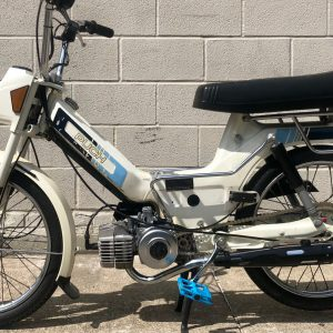 Rare White 1986 Puch Maxi from private collection – as is (SOLD)