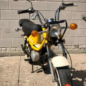 Custom Yamaha Chappy 80 from private collection – as is