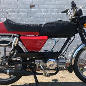Leather Tank Sachs G3 (or maybe Eagle 3?) project – as is (SOLD)