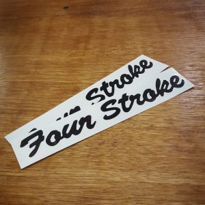 Reproduction Indian Four Stroke decals