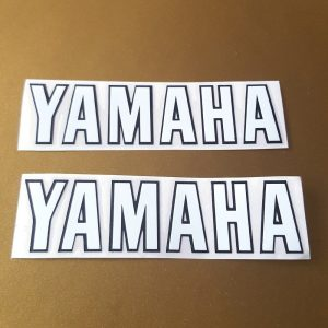 Yamaha QT50 reproduction frame decals