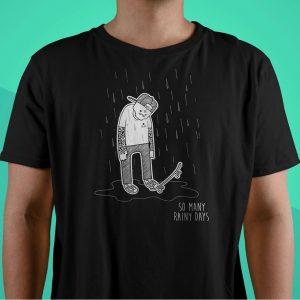 Huggable Henchmen Rainy Days T-shirt