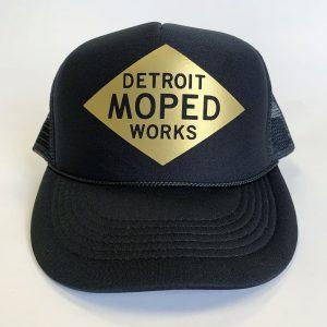 Detroit Moped Works Snap Back Logo Hat
