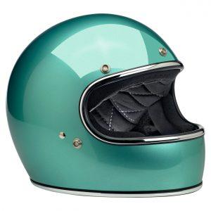 Biltwell Gringo Gloss Sea Foam ECE Helmet