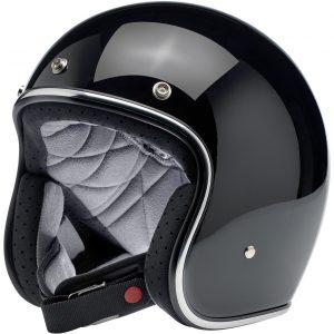 Biltwell Bonanza Gloss Black Helmet