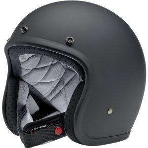 Biltwell Bonanza Flat Black Helmet