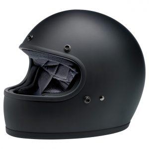 Biltwell Gringo Flat Black ECE Helmet