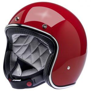 Biltwell Bonanza Gloss Blood Red Helmet