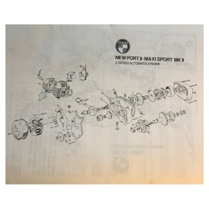 Puch ZA50 first speed clutch (used)
