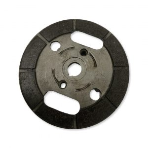 Puch E50 two shoe back clutch plate (used)