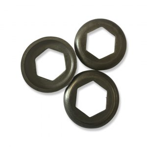 Puch ZA50 roller retainer thrust plate (4.6mm) (used)