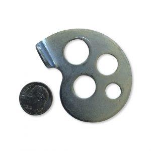 Tomos axle chain adjuster – left side (NOS)
