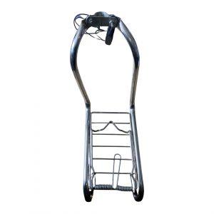 Vespa Piaggio Ciao Chrome Book Rack (Used)