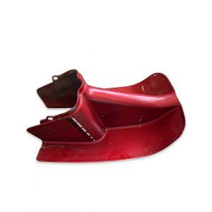 Leg Shield For Trac Escot/Clipper Red Colored (Used)