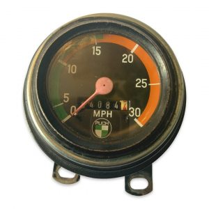 Puch VDO 30MPH Speedometer- Doesn't Turn- Complete  (Used)