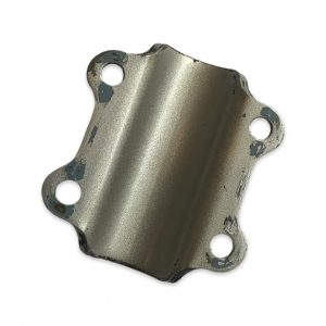 Puch Maxi Swing Arm Back Mount Plate-  Black/Silver (Used)