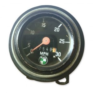 Puch VDO Speedometer- No Sticker #3 (Used)