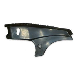 Tomos A35 Right Side Running Board- Balck w/ Scrape (Used)