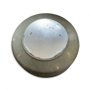 Motobecane Flywheel Cover- Green & Chrome (Used)