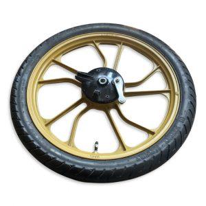 Tomos 16″ Complete Wheel Set (Used)