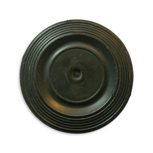 Batavus Flywheel Cover-Black-Scraped (Used)