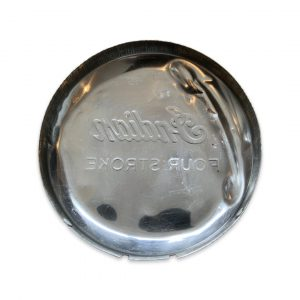 Indian Four Stroke Flywheel Cover-Chrome (Used)