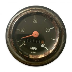 Puch 40MPH Speedometer– Rusty-No Bottom (Used)